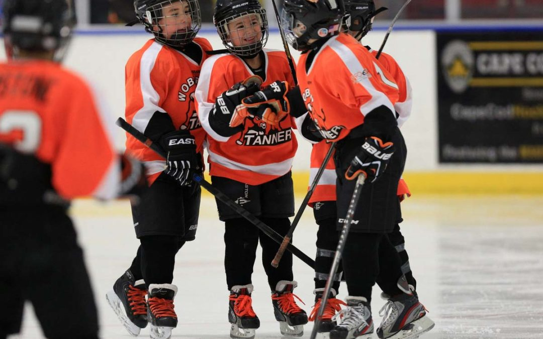 Annual Woburn Turkey Day Classic Squirt Hockey Tournament Sports Action Photography